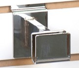3 Inches Long Rectangular Bracket for Slatwall