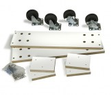 Caster Set for 2-Way Slatwall Merchandisers