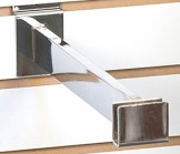 12 Inches Slatwall Rectangular Bracket