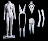 Female Ghost Mannequin with Complete Ghost Features
