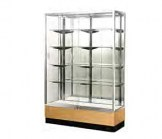 Glass Trophy Wall Case - 48 Inches Wide