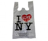 I Love NY medium size rabbit ears bag