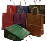 Cub Size Matte Color Shopping Bag