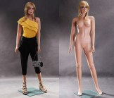 Realistic Female Mannequin - Arms at Side