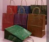 Queen Size Matte Color Shopping Bag