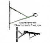V-Bracket for 1 1/4 Inch Pipe