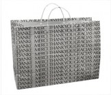 Vogue Size Thank You Shopping Bag