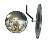 Glass Circular Convex Mirror - 26 Inches Diameter