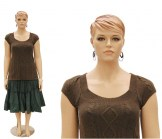 Plus Size Realistic Mannequin Female