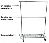 Salesman's Collapsible Rack with the Works