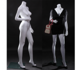 Female White Headless Mannequin-Right Arm Bent