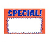 11 X 14 Paper Blank SPECIAL Orange Sign