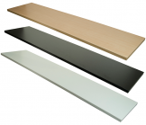 Melamine Shelf - 12 x 24 Inches In Various Colors